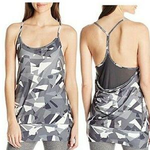 NWT CHAMPION Vapor Camouflage layer Strappy Tank L